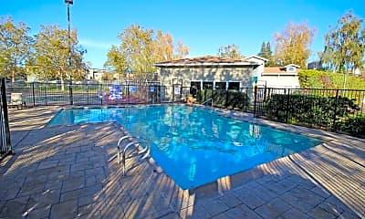 Pool, Chesapeake Commons, 1