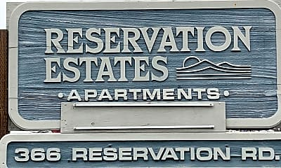 RESERVATION ESTATES, 1