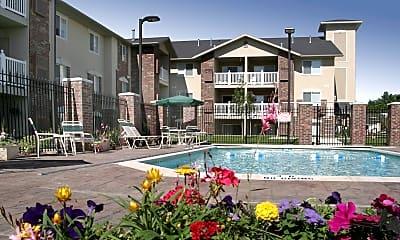 Pool, Senior Living Coventry Cove Apartments 55+, 0