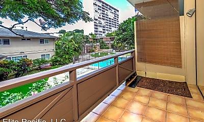 Patio / Deck, 1700 Makiki St, 2