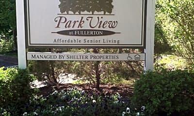 Community Signage, Park View At Fullerton, 1