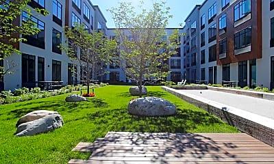 Courtyard, Harrison Station 330, 0