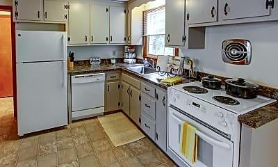Kitchen, Mount Vernon Apartments, 1