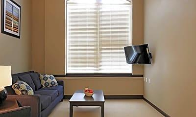 Living Room, Mount Washington Senior Apartments, 1
