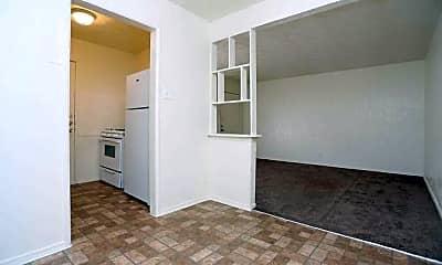 Kitchen, Fountain Villa Apartments, 1