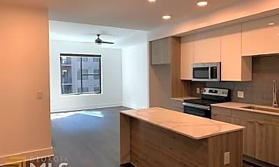 Kitchen, 1777 Peachtree St NE 806, 1