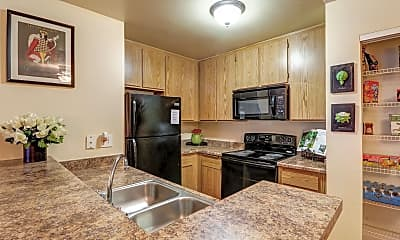 Kitchen, The Springs Apartments, 0
