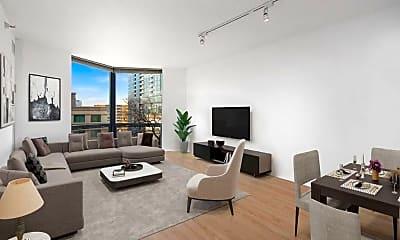Living Room, 1120 N LaSalle St, 1