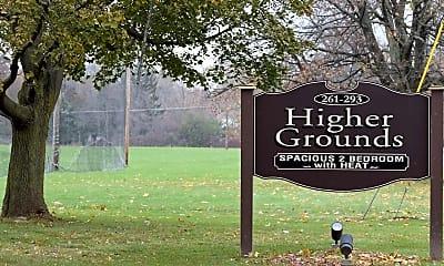 Community Signage, Higher Grounds, 2