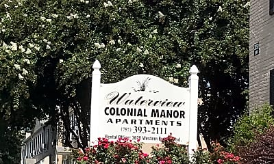 Waterview Colonial Manor Apartments, 1