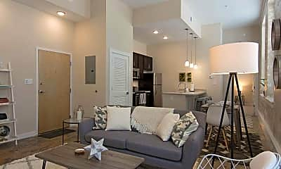 Living Room, Lofts at the Village, 1