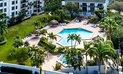Pool, 400 Island Way 512, 2
