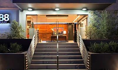 Building, 888 Hilgard Furnished Living, 1