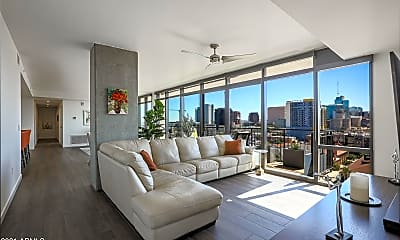 Living Room, 200 W Portland St 1117, 1