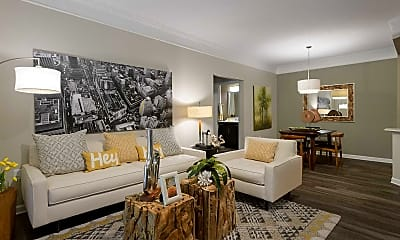 Living Room, NorthHaven at Johns Creek, 1
