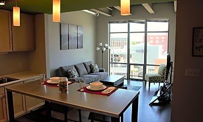 Dining Room, Canopy Lofts, 1
