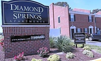 Community Signage, Diamond Springs, 2