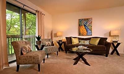 Living Room, Mansfield Woods, 1