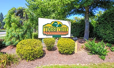 Community Signage, Timber Creek Apartments, 2
