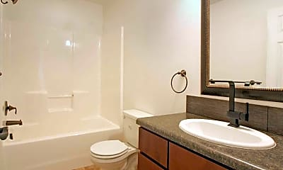 Bathroom, Pine Ridge Townhomes, 2