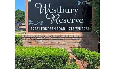 Community Signage, Westbury Reserve, 1