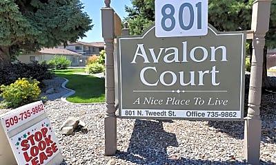 Community Signage, 801 N Tweedt St, 2