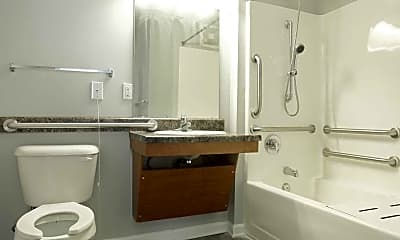 Bathroom, Westgate Terrace Apartments, 2