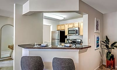 Kitchen, The Apartments at Harbor Park, 1