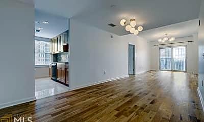 Living Room, 195 14th St NE 1603, 1