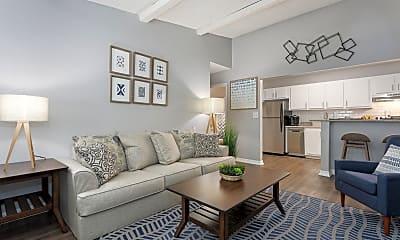 Living Room, Sherwood Oaks, 0