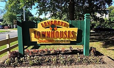 Leverett Townhouses, 1