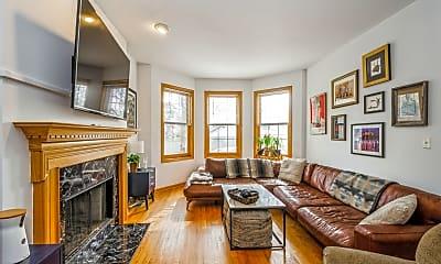 Living Room, 3316 N Damen Ave. 1, 1