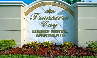 Community Signage, Treasure Cay Apartments, 2