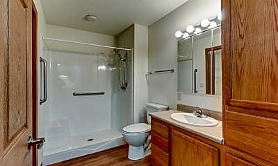Bathroom, One Oak Place Retirement Community, 2
