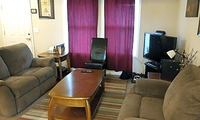 Living Room, 1721 Lawrence Ave, 0
