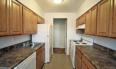 Kitchen, Meadowview Apartments, 0