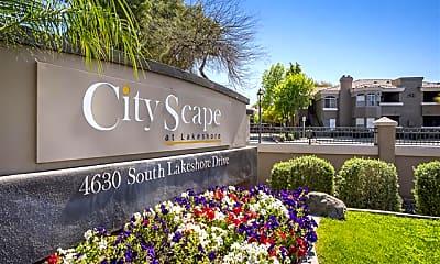 Community Signage, CityScape At Lakeshore, 2