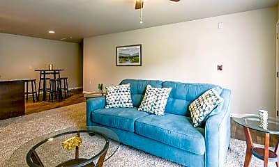 Living Room, Phantom Woods Estates, 1