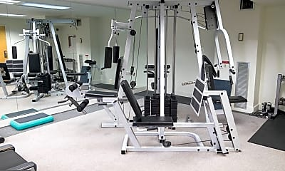 Fitness Weight Room, 4100 N Charles St 911, 2