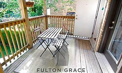 Patio / Deck, 1753 W Winnemac Ave, 2