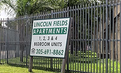 Lincoln Fields, 1