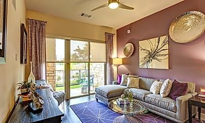Living Room, The Flats at Palisades, 1