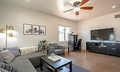 Living Room, 1820 E Turney Ave, 1