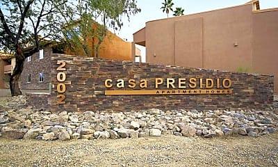 Community Signage, Casa Presidio Apartments, 2