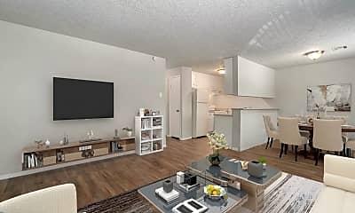 Living Room, Monterrey Vista Apartments, 0