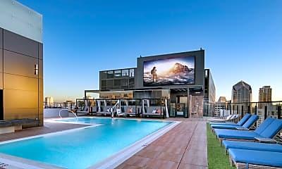 Pool, Luma Apartments, 2
