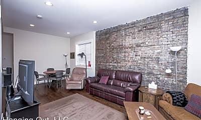 Living Room, 2147 W Webster Ave, #1F, 0