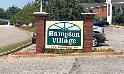Hampton Village Apartments, 1
