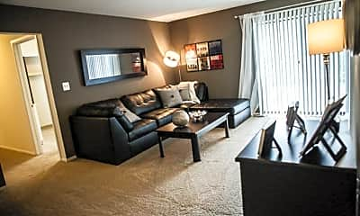 Living Room, Country Squire Apartments, 0