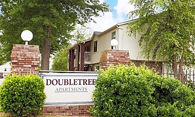 Community Signage, Double Tree I/II, 2